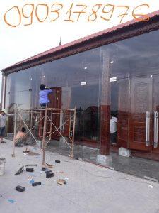 Cửa kính thủy lực bản lề sàn – Thợ lắp cửa kính thủy lực bản lề sàn