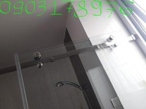 Cửa kính nhà tắm – Thi công cửa kính nhà tắm – Cửa kính lùa nhà tắm giá rẻ